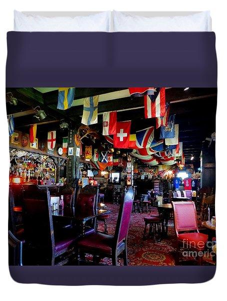 British Pub Duvet Cover by Tim Townsend