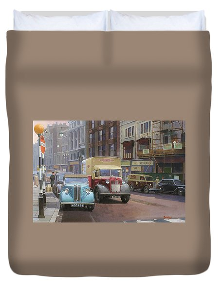 British Railways Austin K2 Duvet Cover