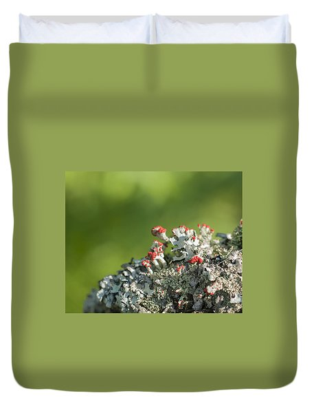 Brits On The Fence Duvet Cover