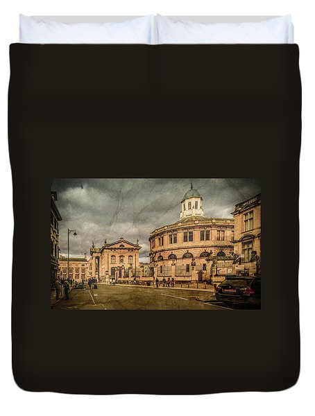 Oxford, England - Broad Street Duvet Cover