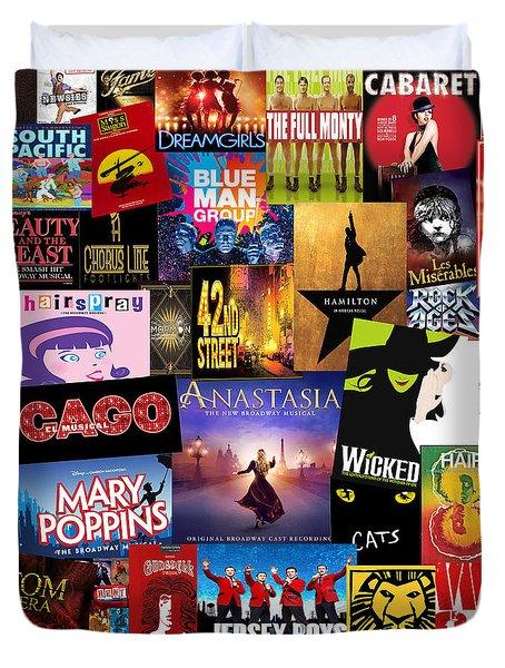 Broadway 14 Duvet Cover