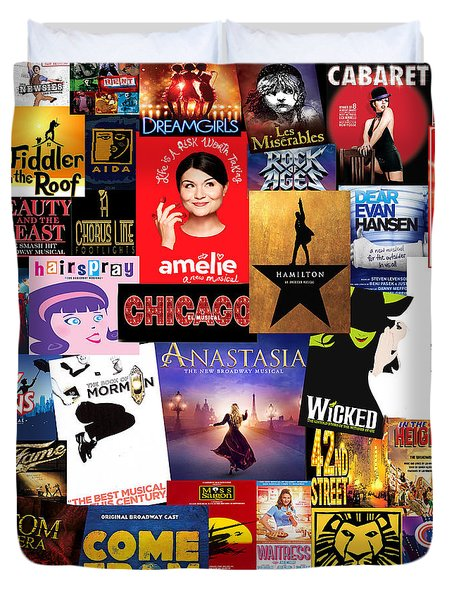 Broadway 15 Duvet Cover