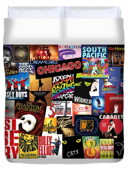 Broadway 3 Duvet Cover by Andrew Fare