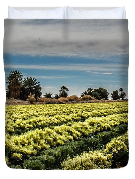Broccoli Seed Duvet Cover