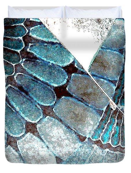 Broken 3-2 Duvet Cover by Lenore Senior
