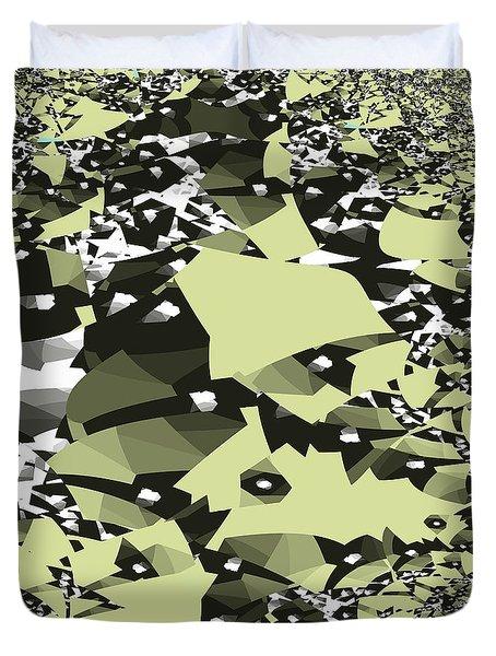 Broken Abstract Duvet Cover
