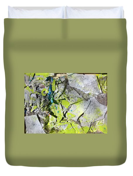 Broken And Reformed #3 Duvet Cover