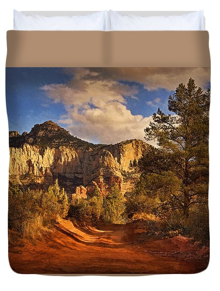 Broken Arrow Trail Pnt Duvet Cover