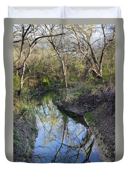 Broken Branch Creek Duvet Cover