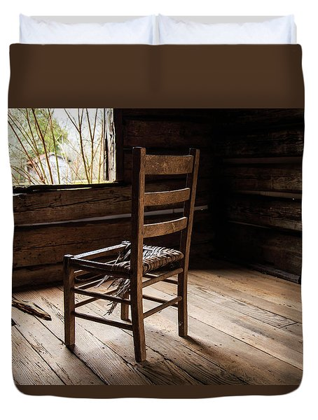 Broken Chair Duvet Cover