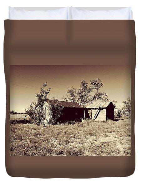 Broken Homestead Duvet Cover