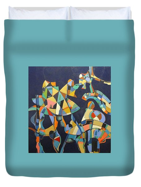 Broken Promises Last Forever Duvet Cover by Bernard Goodman