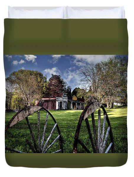Broken Wheel Ranch Duvet Cover