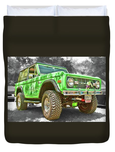 Bronco 1 Duvet Cover