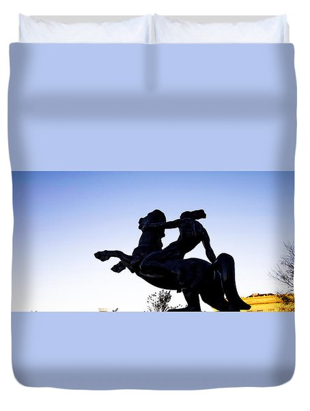 Bronco Duvet Cover