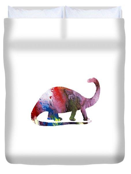 Brontosaurus Duvet Cover