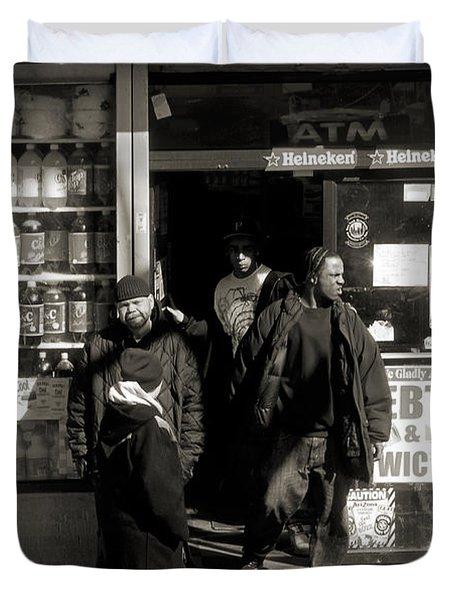 Bronx Scene Duvet Cover