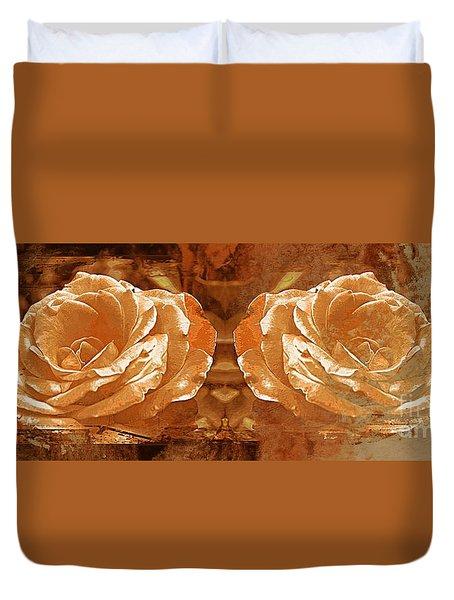 Bronzed Duvet Cover