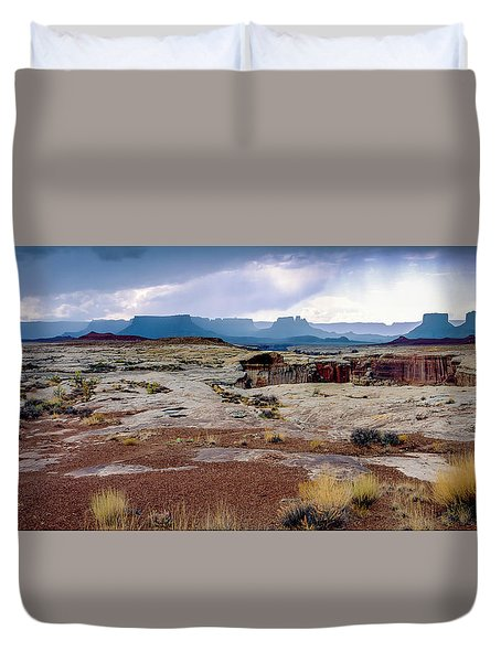 Brooding Sky Summer Storm Duvet Cover