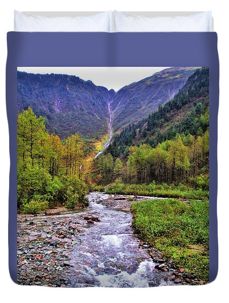 Brook Duvet Cover by Martin Cline