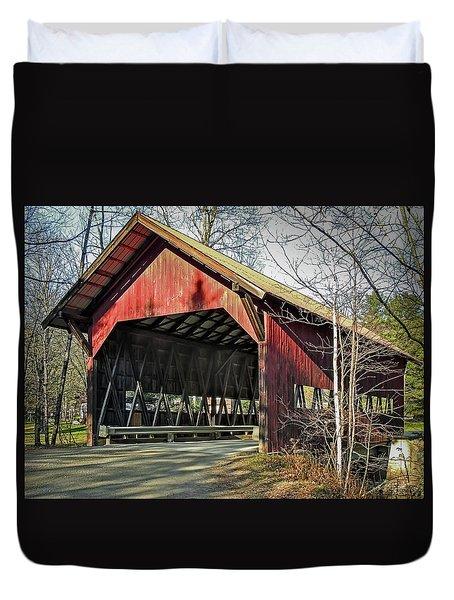 Brookdale Bridge Duvet Cover