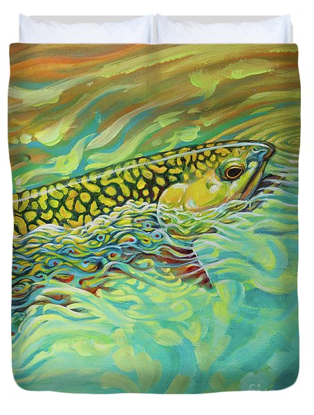 Brookie Flash Rework Duvet Cover