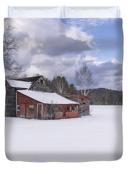 Brookline Winter Duvet Cover