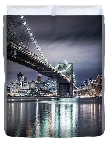 Brooklyn Bound Duvet Cover