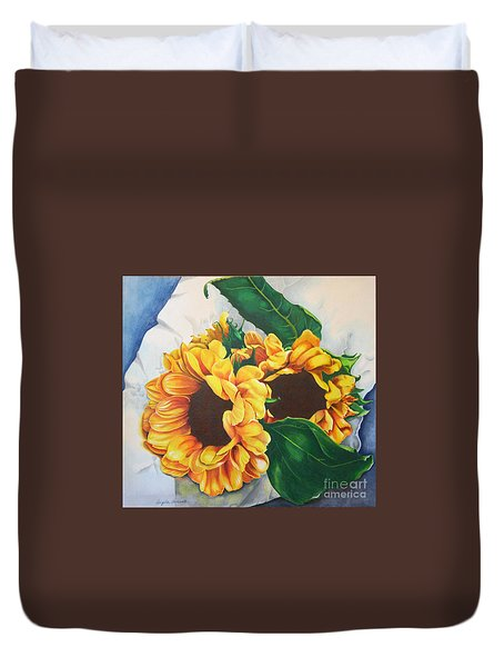 Brooklyn Sun Duvet Cover