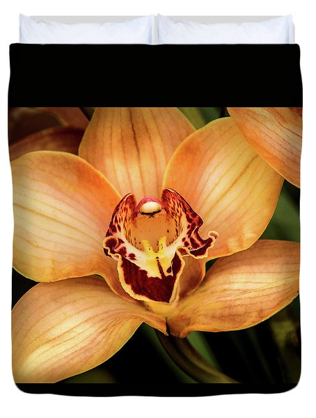 Brookside Orchid Duvet Cover