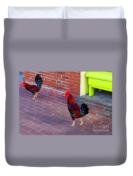 Brother Rosters Duvet Cover