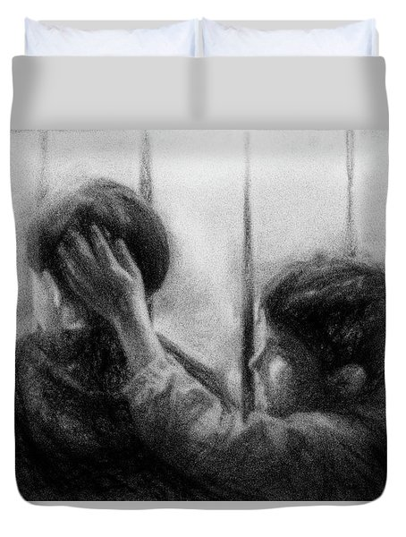 Brotherhood Duvet Cover by Celso Bressan