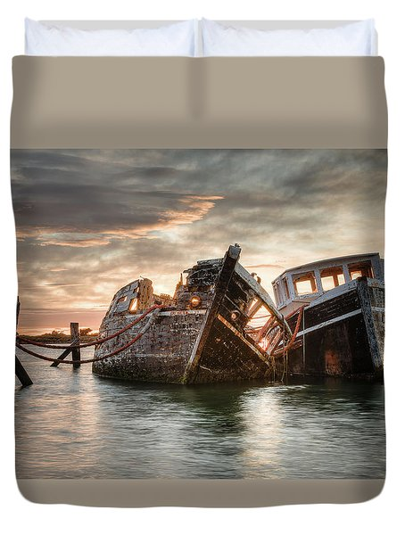 Brothers In Arms Duvet Cover