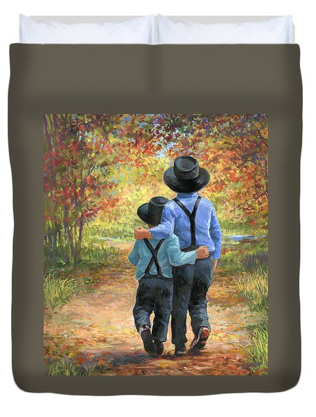 Brothers Duvet Cover