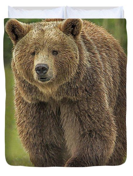 Brown Bear 1 Duvet Cover