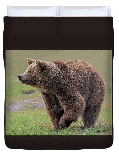 Brown Bear 14.5 Duvet Cover
