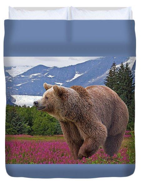 Brown Bear 2 Duvet Cover