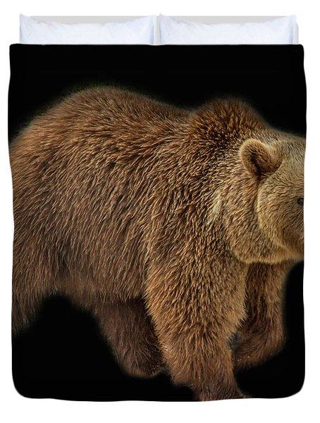 Brown Bear 5 Duvet Cover
