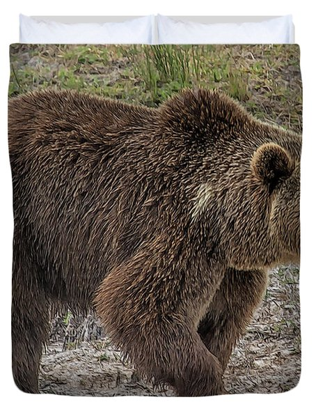 Brown Bear 6 Duvet Cover