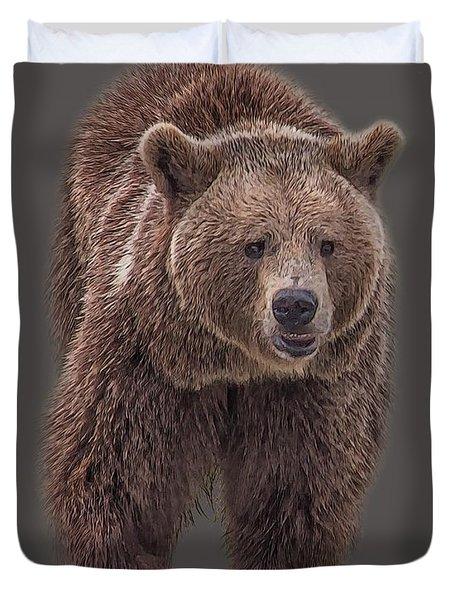 Brown Bear 8   Duvet Cover