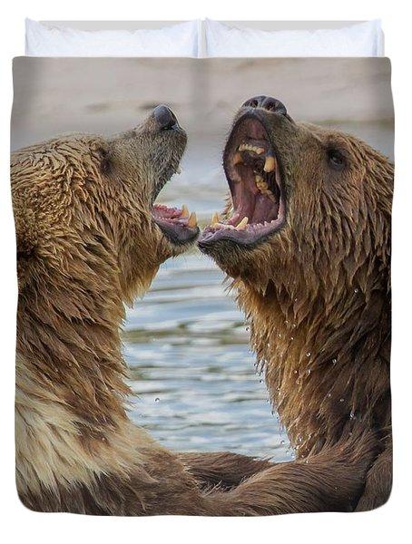 Brown Bears4 Duvet Cover