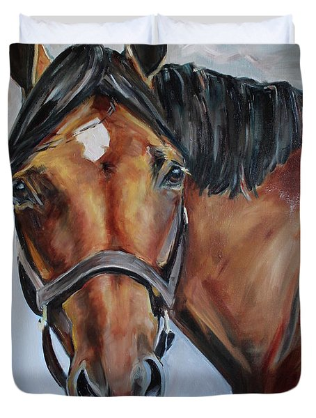 Brown Horse Duvet Cover