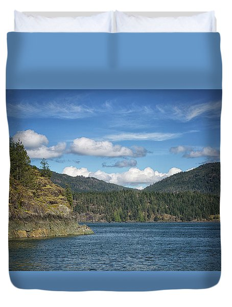 Browns Bay Duvet Cover by Randy Hall