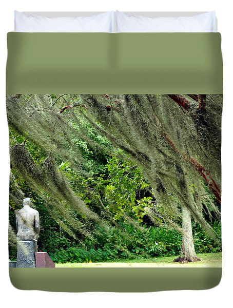 Brownwell Memorial Park Duvet Cover