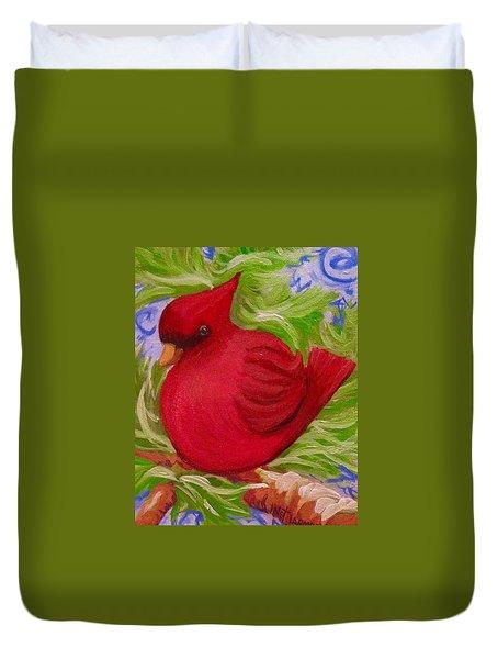 Brrr Bird Duvet Cover