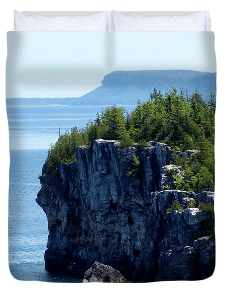 Bruce Peninsula National Park Duvet Cover by Cale Best