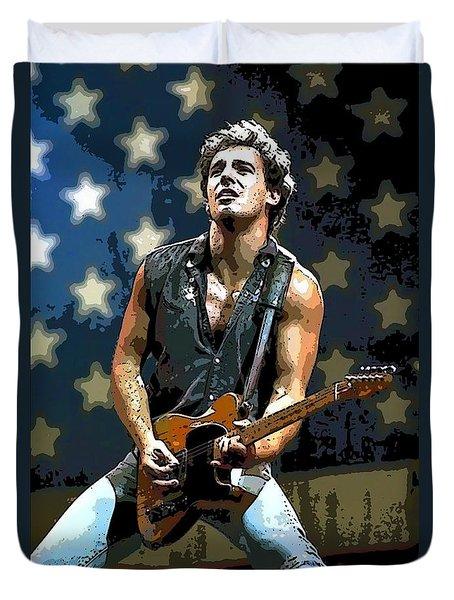 Bruce Springsteen Born To Run Duvet Cover