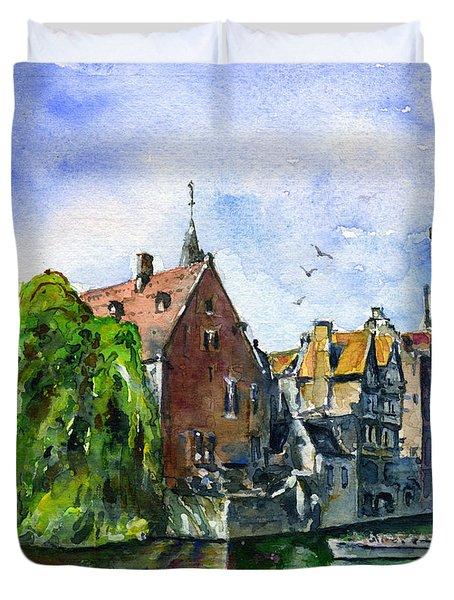Bruges Belgium Duvet Cover