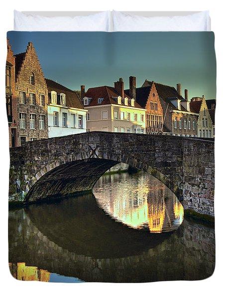 Bruges Twighlight Duvet Cover