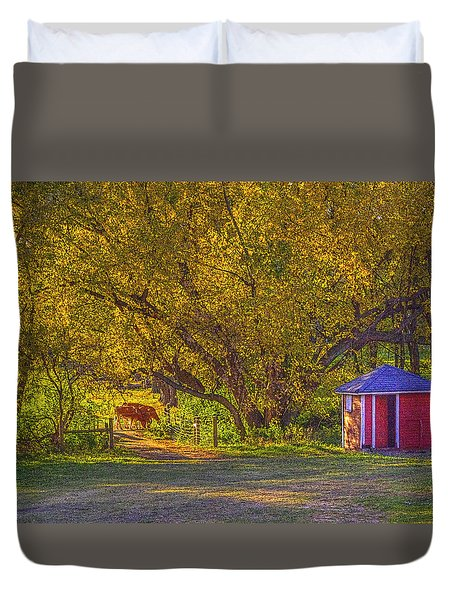Brunner Organic Family Farm Duvet Cover